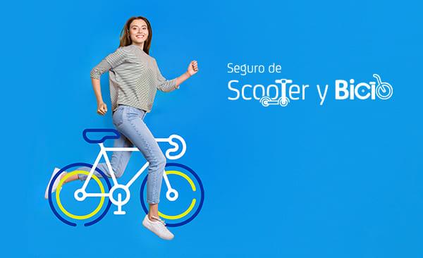 Seguro de Scooter y Bici