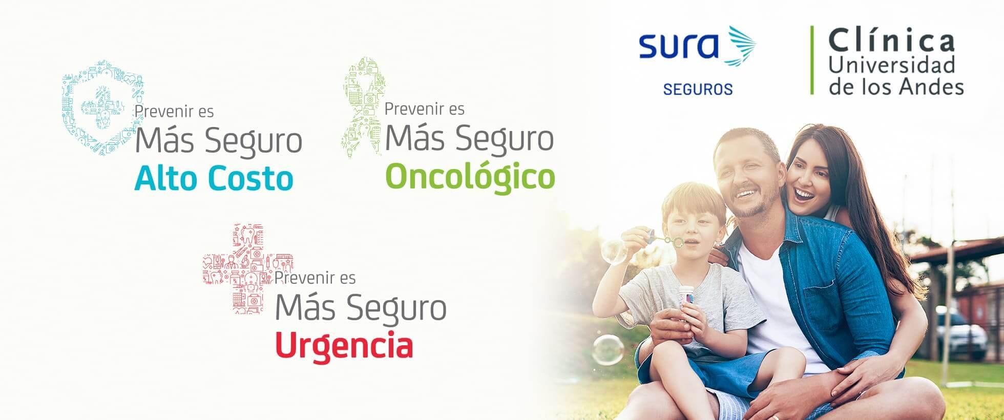 Sura promoción Clínica Universidad de los Andes