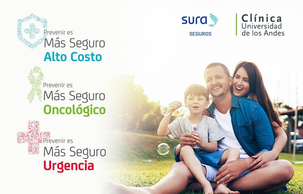 SEGUROS SURA PROMOCIÓN - CÍNICA UNIVERSIDAD ANDES