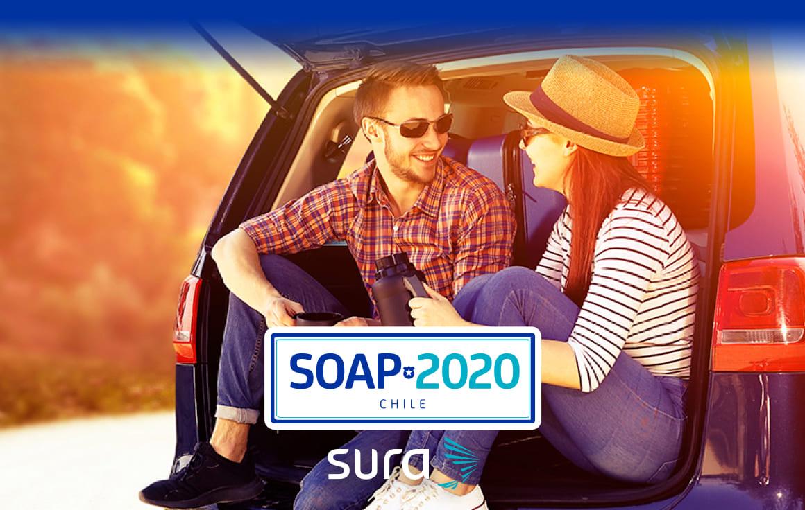 Contrata tu SOAP 2020 para vehículos particulares, transporte público y carga pesada.