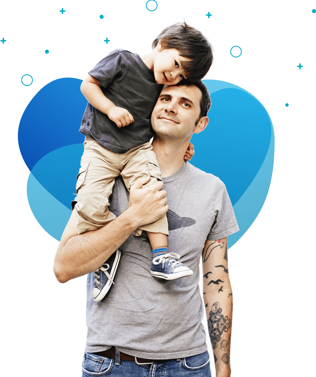 imagen padre e hija