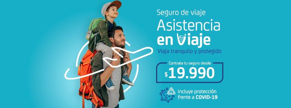Sura promoción Seguro Asistencia en Viaje