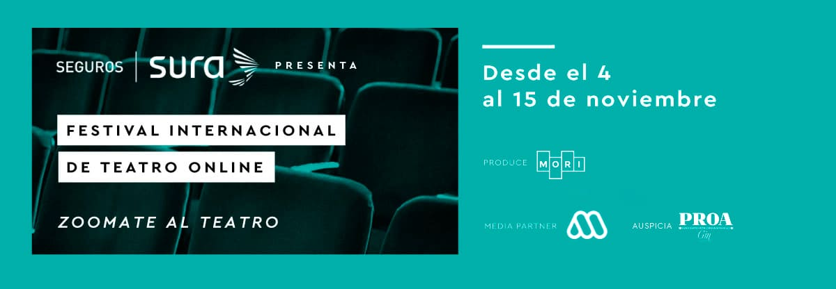 banner festival internacional de teatro online