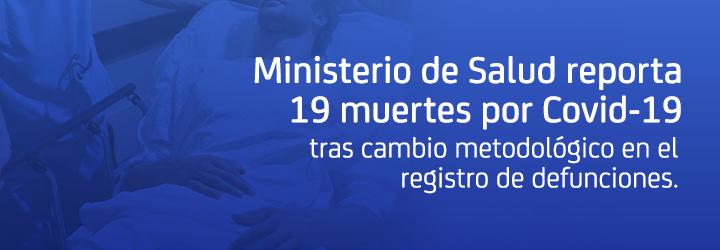 Nuevo record diario de 75 decesos por COVID-19 en Chile